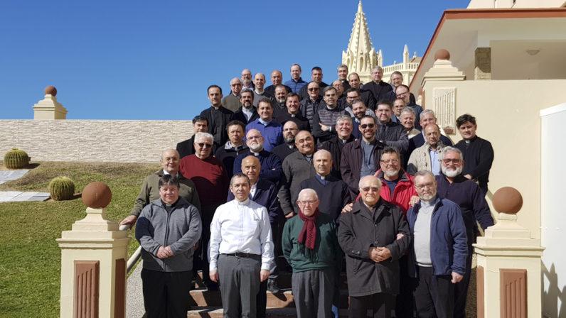 Medio centenar de sacerdotes participan en los Ejercicios Espirituales en Chipiona