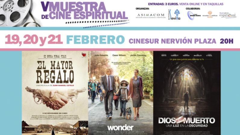 """V Muestra de Cine Espiritual:""""Hay un público que no se conforma con el cine de mero entretenimiento"""""""