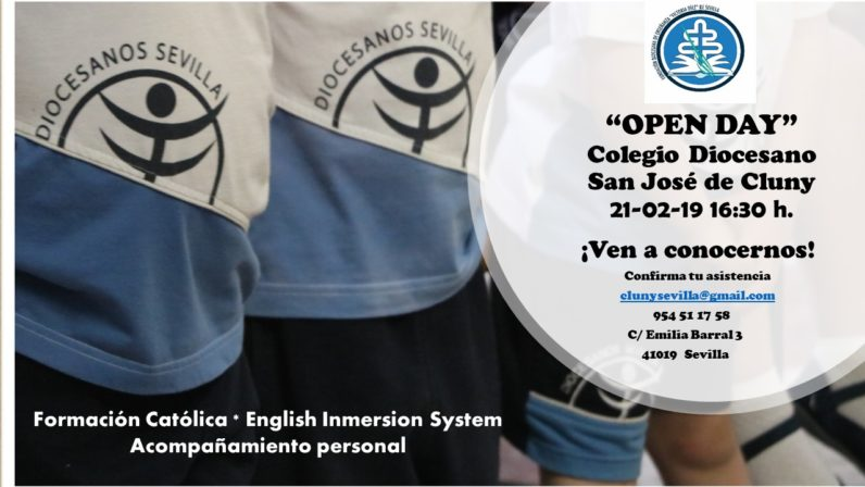 Jornada de puertas abiertas del Colegio Diocesano San José de Cluny