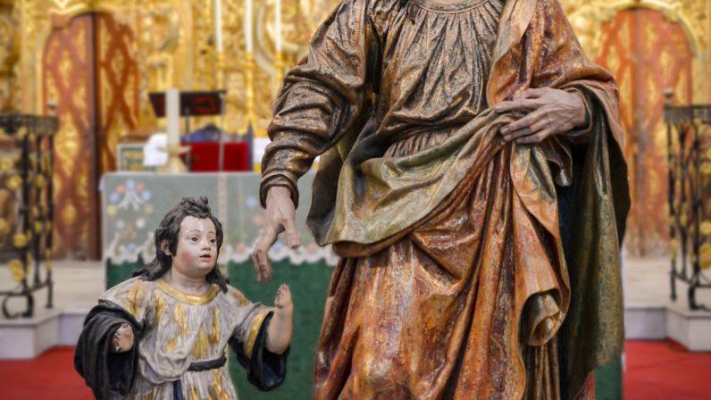 San José con el Niño (Fuentes de Andalucía)