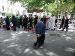 Procesión de impedidos de la Sacramental del Sagrario 2019
