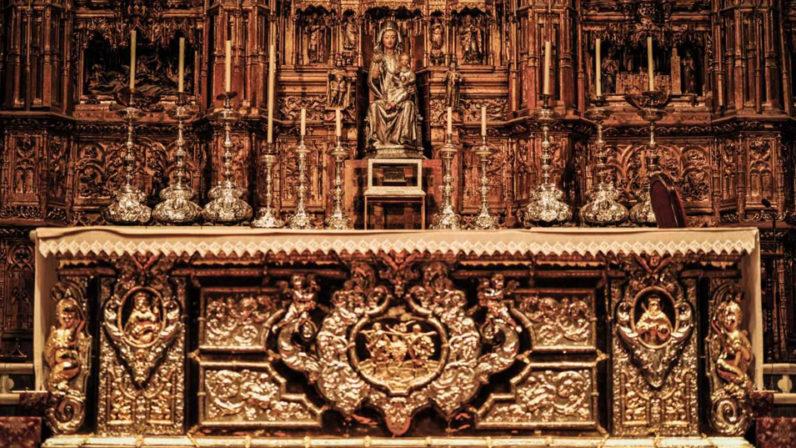 Traslado de reliquias de San Isidoro y San Leandro a la Catedral