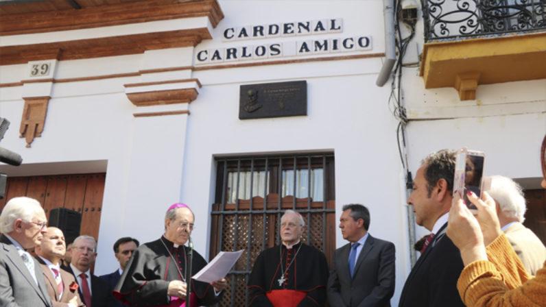 'Una calle para el señor Cardenal', carta pastoral del Arzobispo de Sevilla