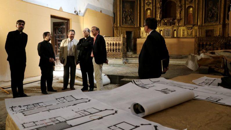 La Archidiócesis acometerá en breve las obras en la iglesia de Santa Clara