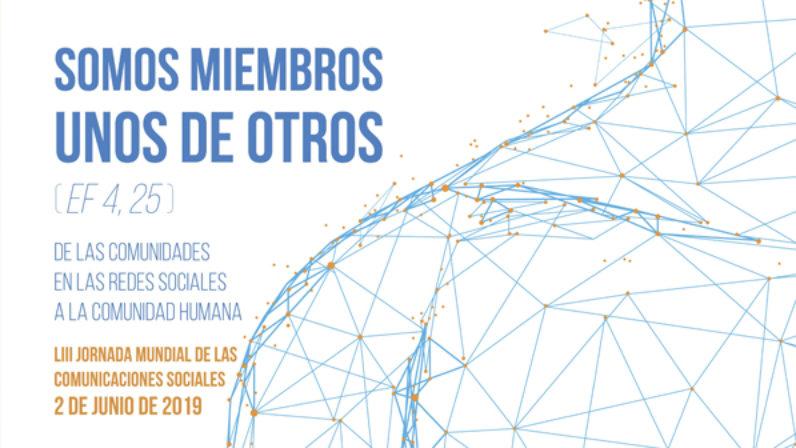 Carta pastoral con motivo de la Jornada de las Comunicaciones Sociales (02-06-2019)