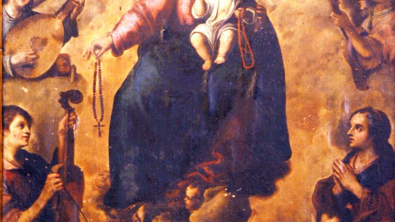 La Virgen del Rosario (Parroquia de Santa Ana, Sevilla)