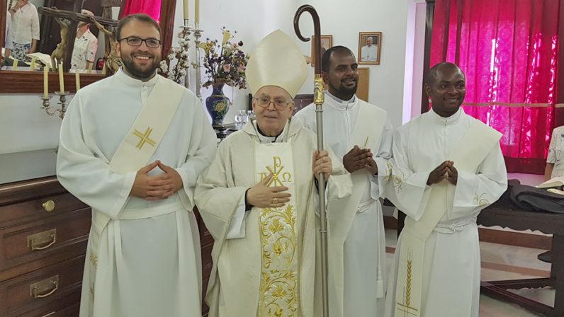 Tres nuevos diáconos para la Iglesia