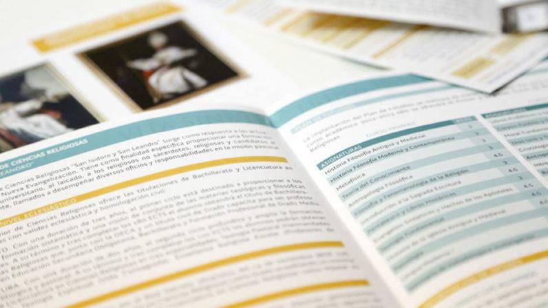 Hoy, 7 de enero, se abre el segundo plazo de matriculaciones en Ciencias Religiosas