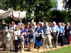 Procesión del Corpus de la Parroquia Santas Justa y Rufina