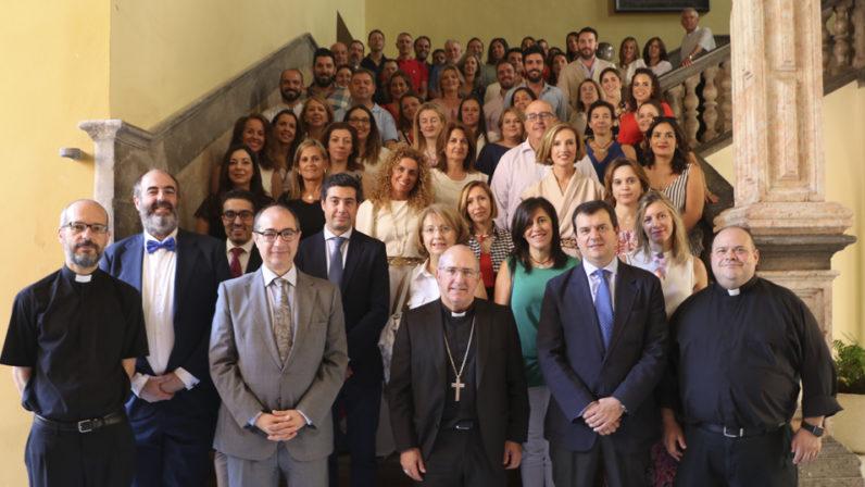 La Fundación diocesana de Enseñanza 'Victoria Díez' despide el curso