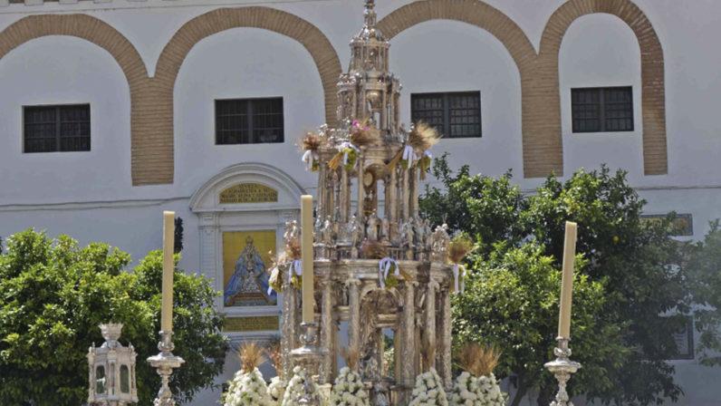 Procesión del Corpus Christi 2019 en Sevilla