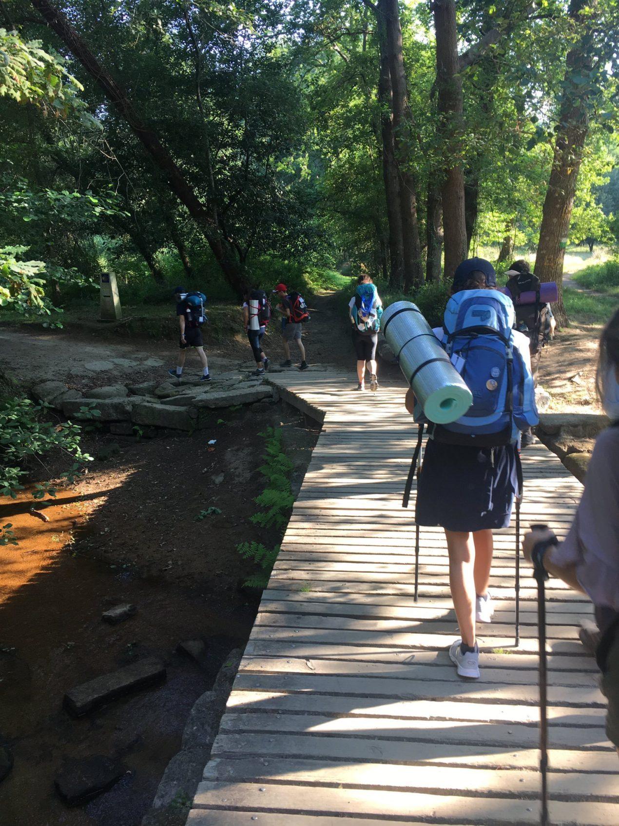 Camino de Santiago 2019 con Pastoral Juvenil