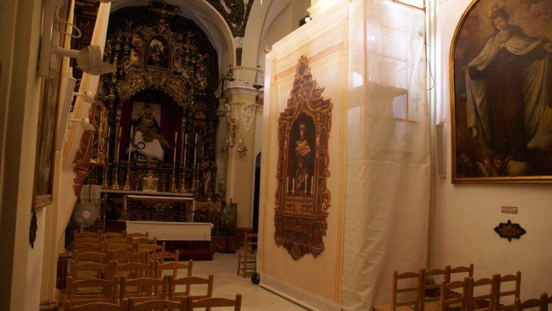 La Hermandad del Baratillo acomete la restauración de los retablos de la Capilla de la Piedad