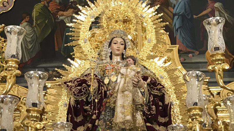La 'Virgen de agosto', referencia festiva en la Archidiócesis