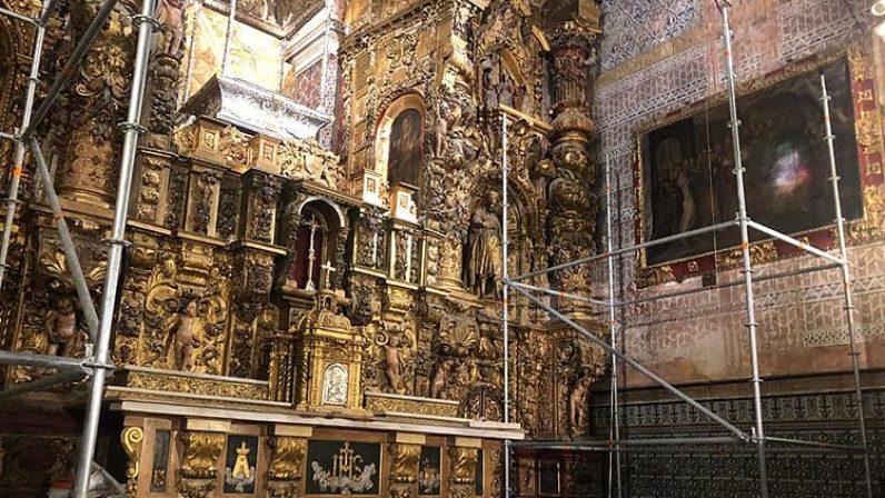 Utrera emprende la restauración del retablo del Santuario de Consolación