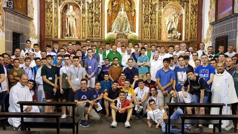 El Seminario Menor de Sevilla participa en el Encuentro de Seminaristas de Bachillerato en Canarias
