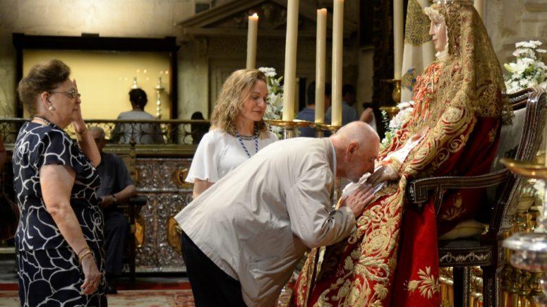 El domingo comienzan los actos de la patrona con el besamanos