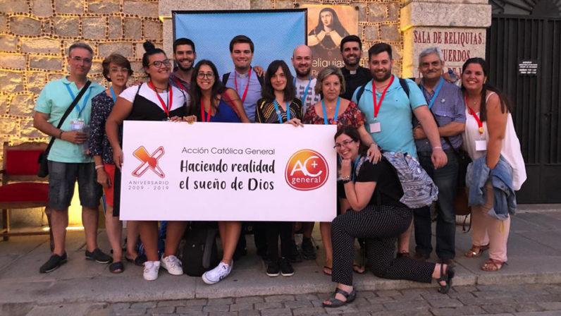 Una quincena de sevillanos participa en el Encuentro de Laicos de Acción Católica