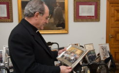 La Catedral acogerá el día 21 la misa de acción de gracias por las bodas de oro sacerdotales de monseñor Asenjo