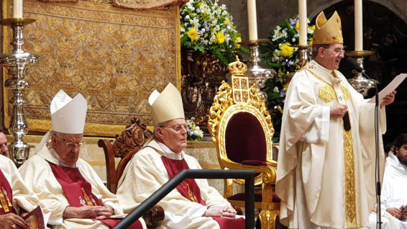"""Monseñor Asenjo por sus bodas de oro sacerdotales: """"El Señor sostiene mi vida y le debo todo lo que soy"""""""