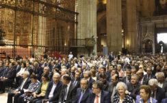 Más de dos mil personas acompañan a monseñor Asenjo en sus bodas de oro sacerdotales