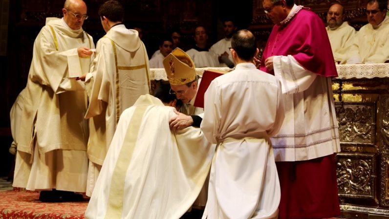 Eduardo Vega, nuevo sacerdote de la Archidiócesis de Sevilla