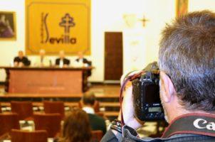 Presentación del informe de la Acción conjunta contra el paro