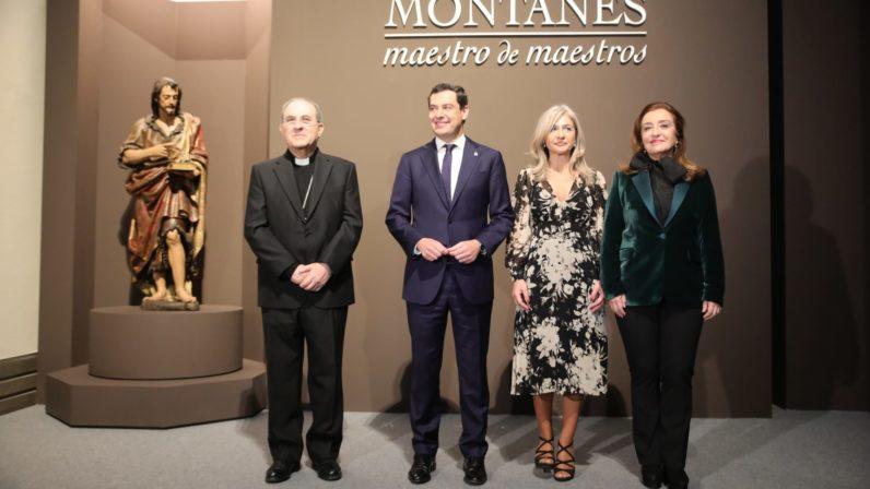"""Inaugurada la exposición """"Montañés, maestro de maestros"""" en el Museo de Bellas Artes"""
