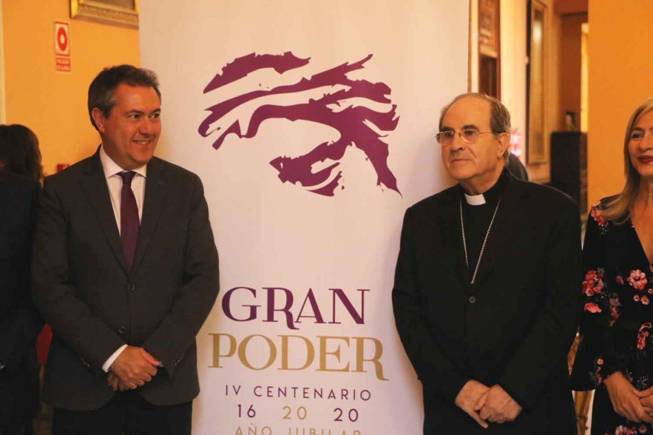 Presentación de los actos del año jubilar de la Hermandad del Gran Poder