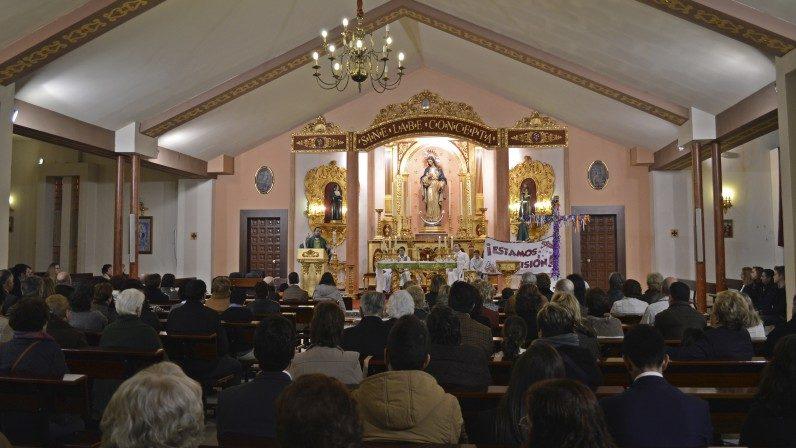 La Parroquia de la Inmaculada Concepción de Alcalá de Guadaíra vivirá a partir del domingo un año jubilar por su cincuentenario