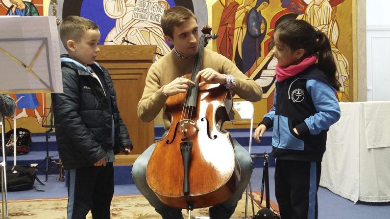 Concierto en el Colegio Sagrado Corazón de Jesús por el Día de la Música