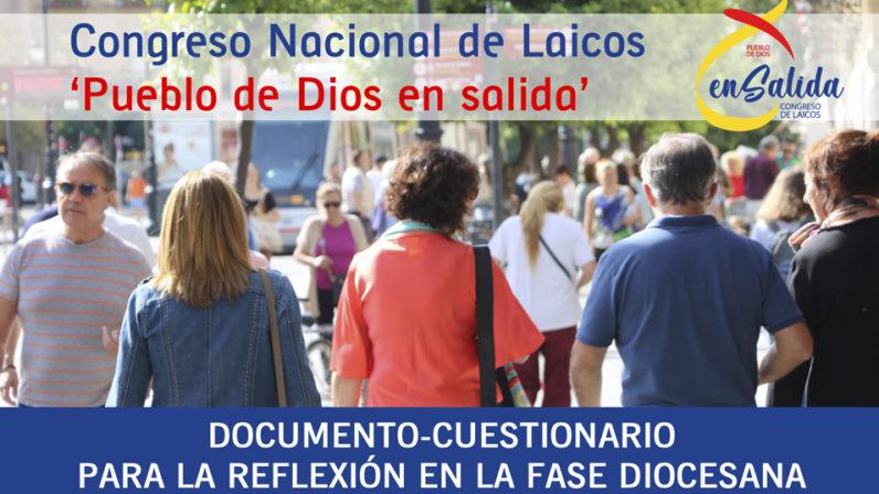 Recta final de la Fase diocesana del Congreso Nacional de Laicos