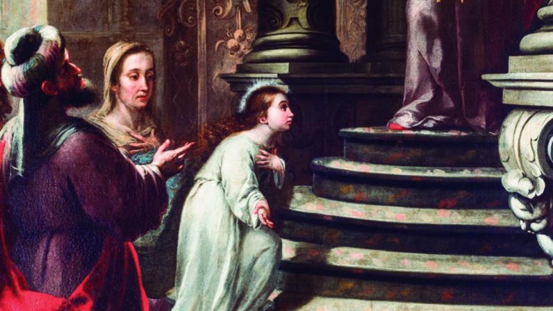 La Presentación de la Virgen en el Templo, Palacio Arzobispal