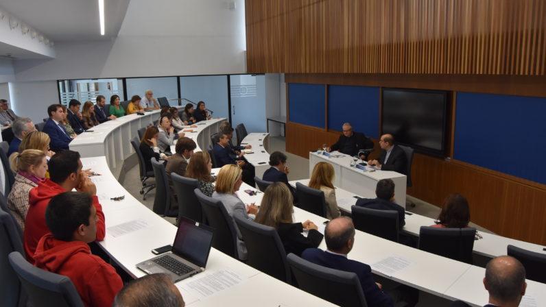 Pablo Guija inaugura el seminario de formación en valores de CEU Andalucía
