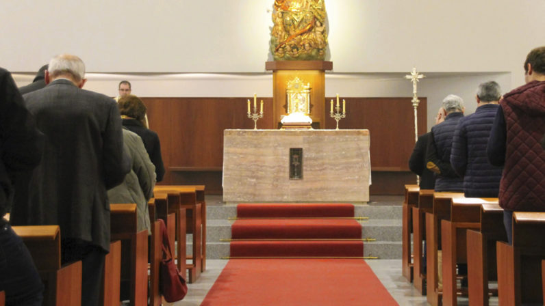 II Vigilia de Adoración Nocturna en el Seminario Metropolitano