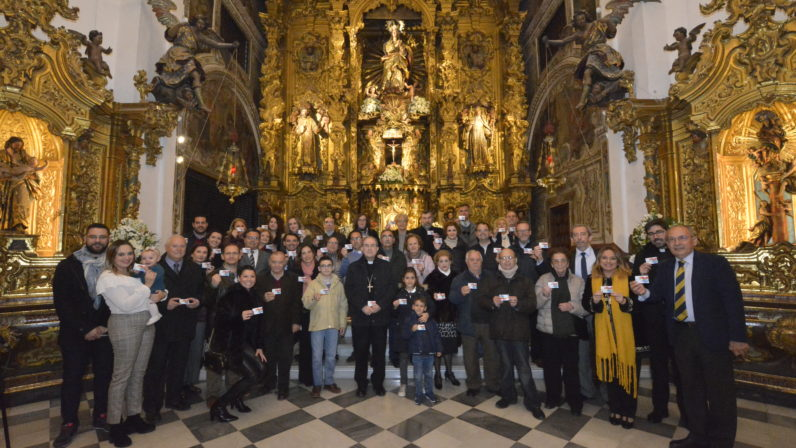 Monseñor Asenjo bendice el Belén de la Solidaridad de los trasplantados