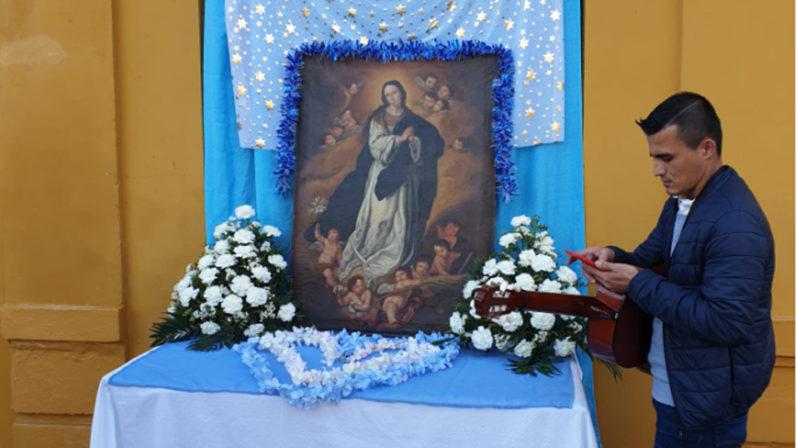 Los migrantes nicaragüenses en Sevilla celebran las fiestas de La Purísima
