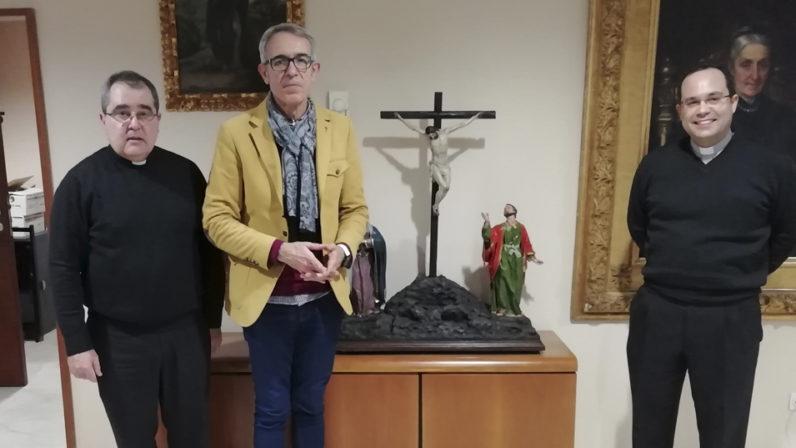 La Hermandad de la Asunción de Cantillana entrega la beca 'Padre Arias Rivas' al Seminario