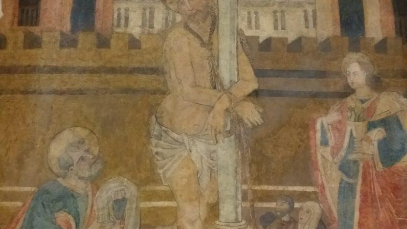 Los frescos de la Parroquia de Nuestra Señora de las Nieves, de la Rinconada