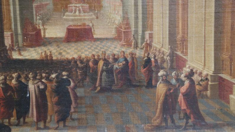 La Presentación de Jesús al Templo, Iglesia de San Alberto (Sevilla)