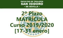 La Facultad de Teología de Sevilla abre hoy su segundo plazo de matriculaciones