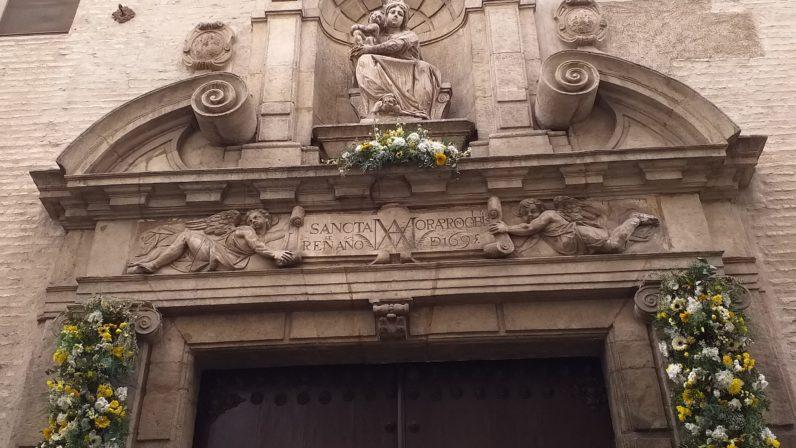 Portada del Convento de Santa María de Jesús (Sevilla)