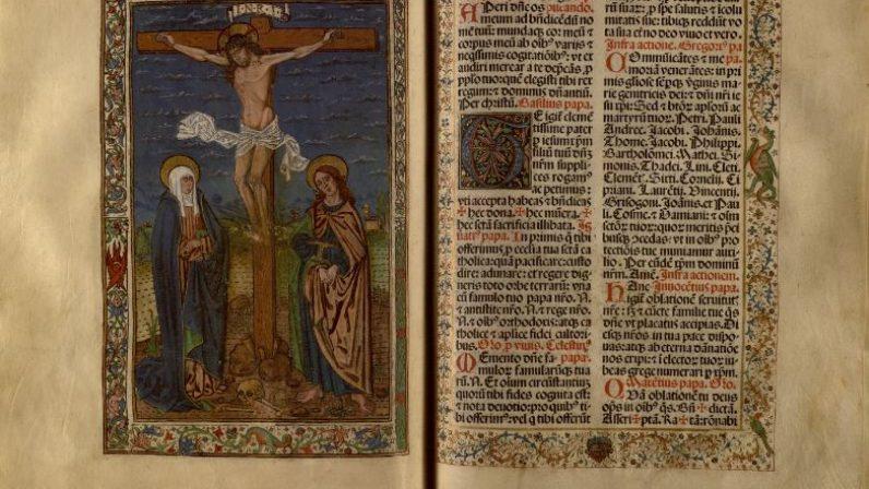Misal para la diócesis de Sevilla del impresor alemán Jacobo Cromberger