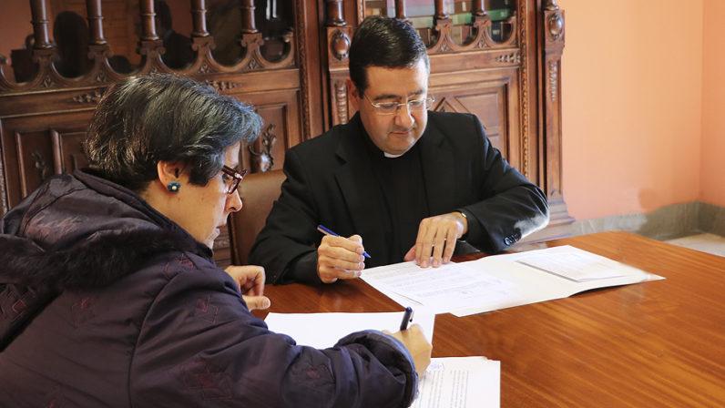 La Archidiócesis y el Colegio de Bellas Artes de Andalucía firman un convenio para la formación en conservación y restauración patrimonial