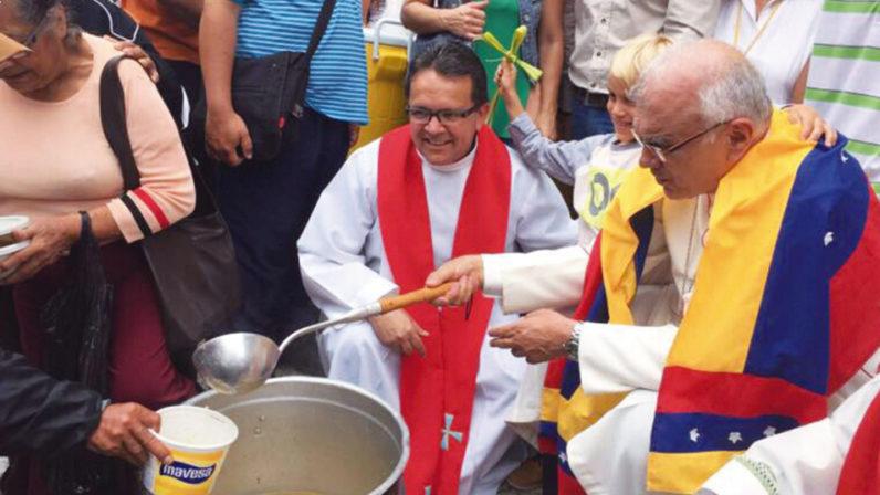 Eucaristía por Venezuela en la Parroquia San Sebastián de Sevilla