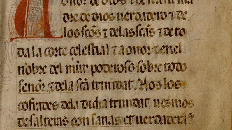 La Regla de Hermandad más antigua conservada en el Archivo Arzobispal de Sevilla
