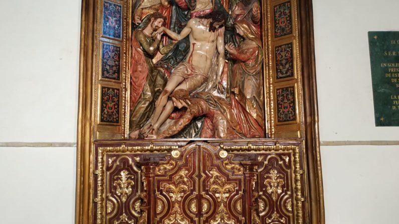 Descendimiento, de la Parroquia de San Vicente mártir (Sevilla)