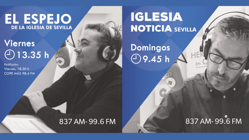 Educación, solidaridad y sanidad, principales temas de la programación religiosa de COPE Sevilla este fin de semana