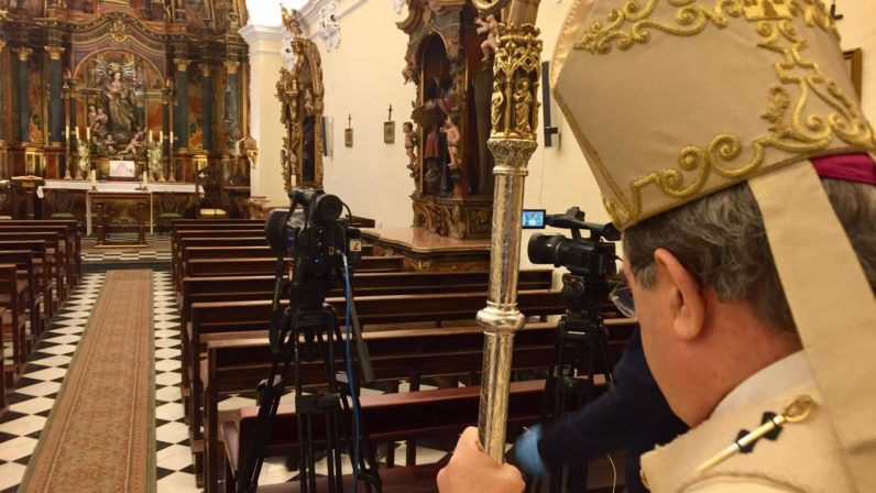 300.000 sevillanos siguieron la retransmisión de la Misa de la Cena del Señor a través de 7TV