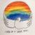 Los confirmandos de San Roque colaboran con #ArcoirisDeEsperanza